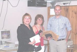 2008 - Entrega de certificados DITEC - Intendencia de Montevideo