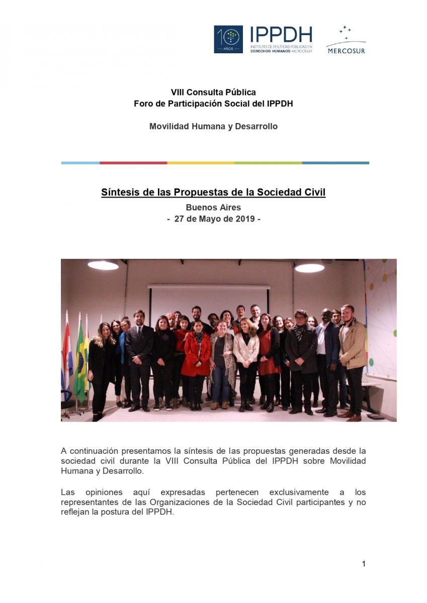 Sintesis de las propuestas - VIII Consulta Pública - FINAL page-0001
