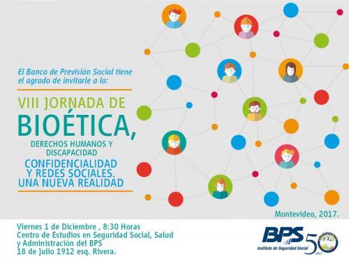 VIII Jornada de Bioética, Derechos Humanos y Discapacidad
