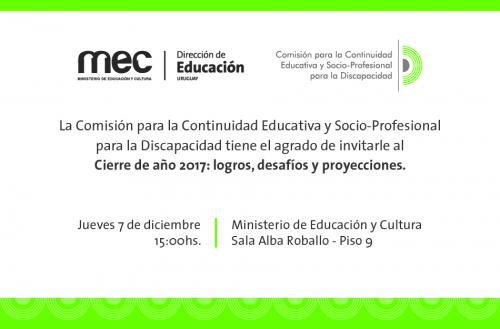 Invitación - Continuidad Educativa
