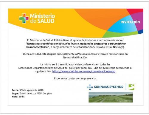 Invitación a participar en Videoconferencia
