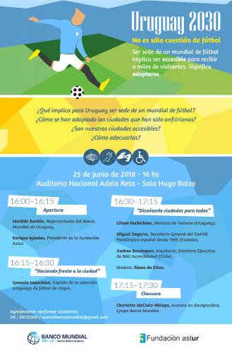 Uruguay 2030: No es sólo cuestión de fútbol