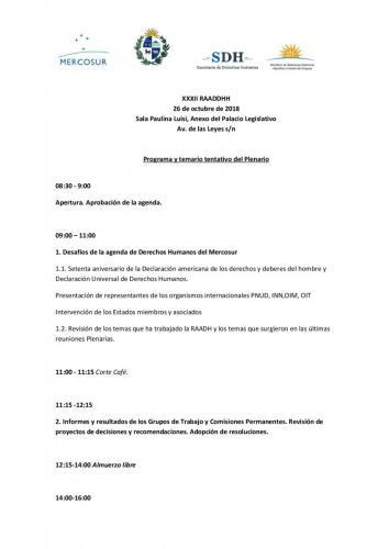 Invitación Organizaciones Sociedad Civil- XXXII RAADH PPTU